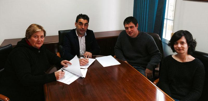 Firma convenio Sahara